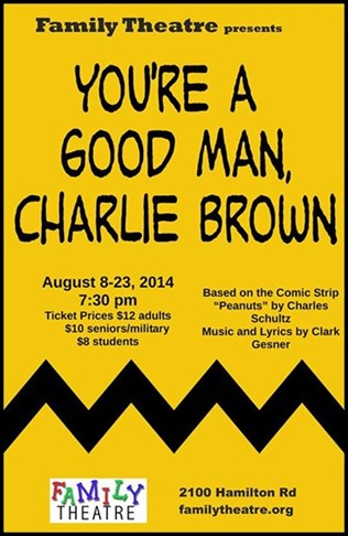 Giveaway: Tickets to You're a Good Man, Charlie Brown
