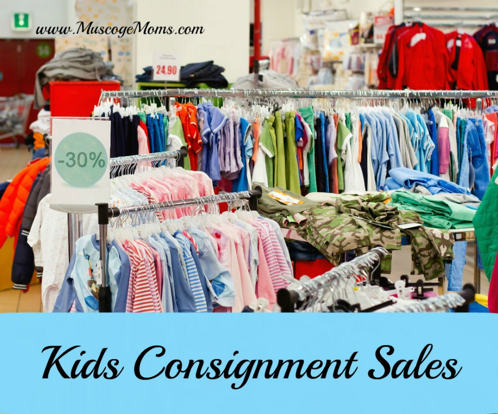 kids consignment sales