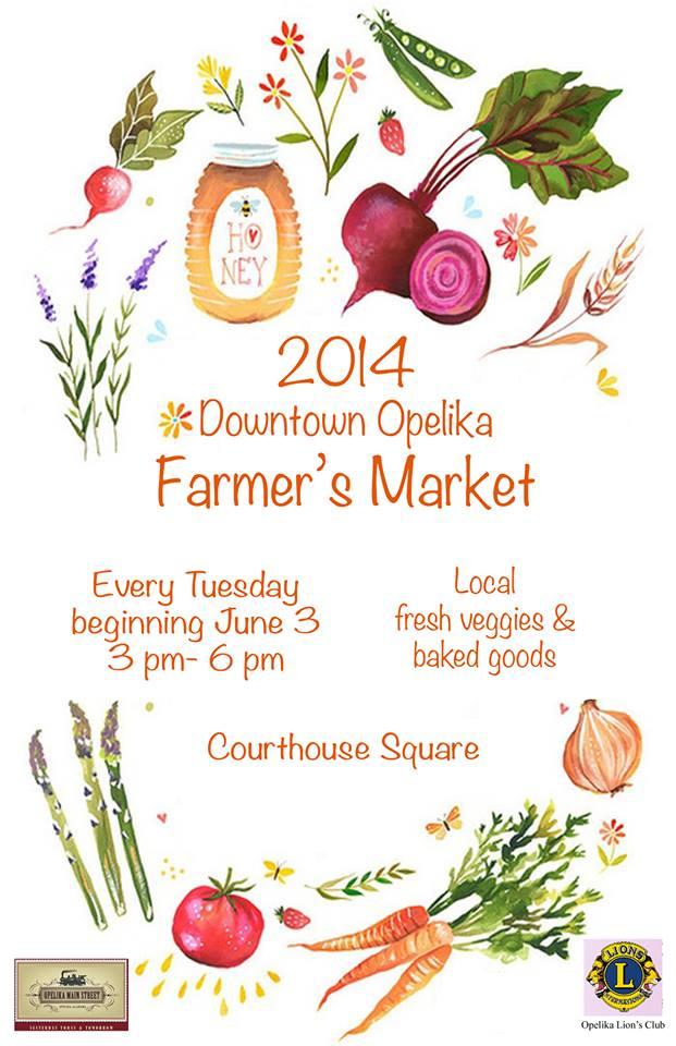Opelika Main Street Farmers Market