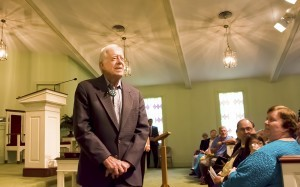 President Carter Teaches Sunday School