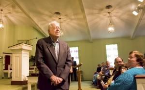 President Carter Teaches Sunday School
