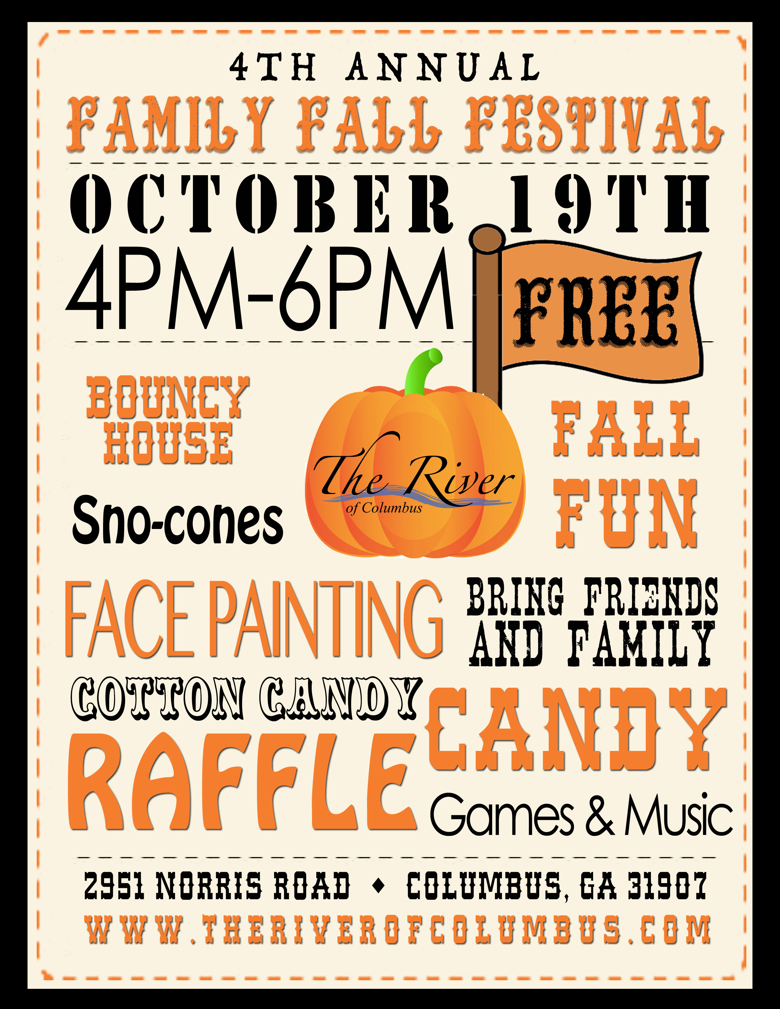 Fall Festival At The River Of Columbus Church
