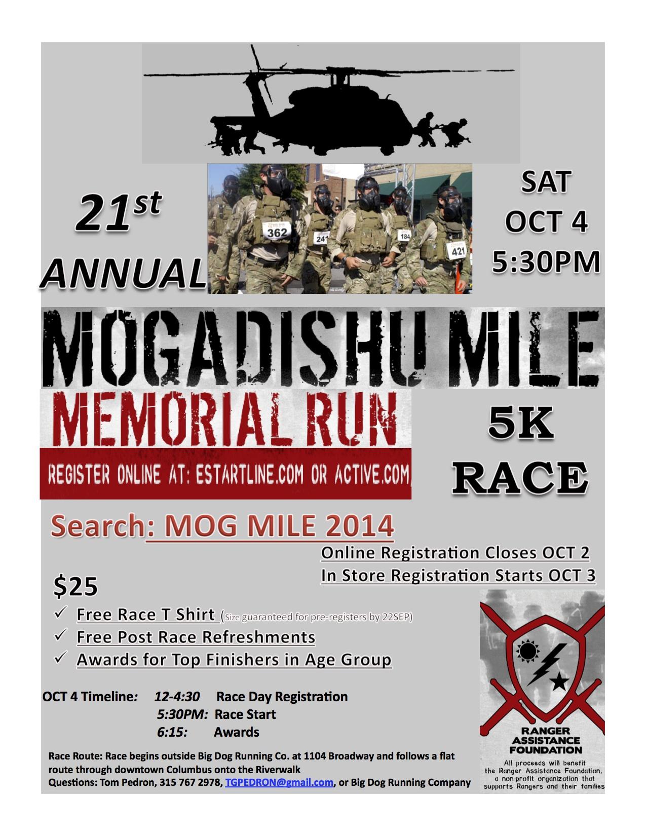 21st Annual Mogadishu Mile
