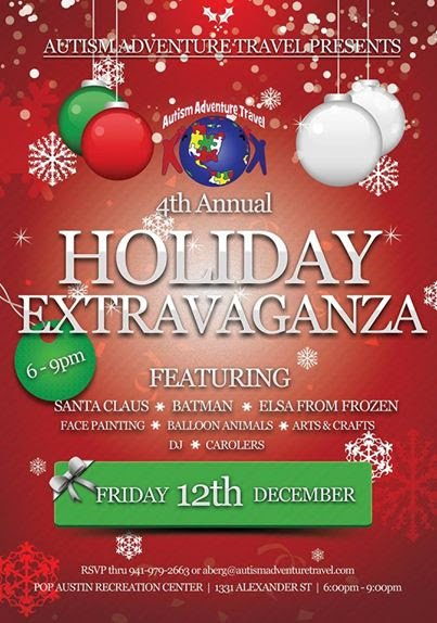 Autism Adventure Travel's 4th Annual Holiday Extravaganza