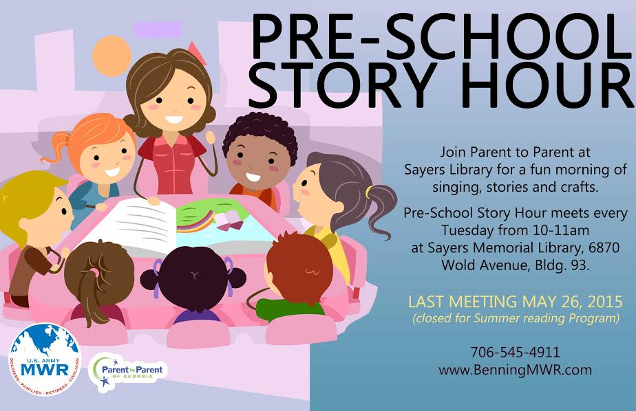 (Ft. Benning) Pre-School Story Hour at Sayers Library
