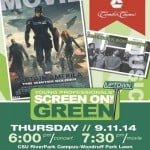 screen on the green capt america