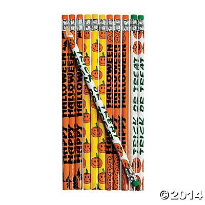 Halloween Pencils