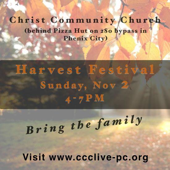 Harvest Festival at Christ Community Church (Phenix City)