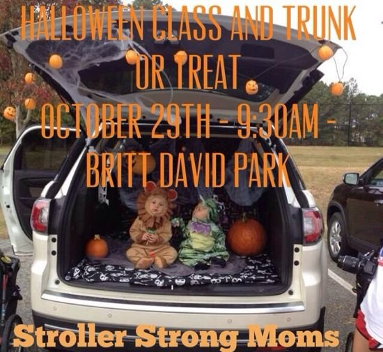 Halloween Class and Trunk or Treat