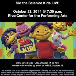 Sid the Science Kid LIVE Giveaway
