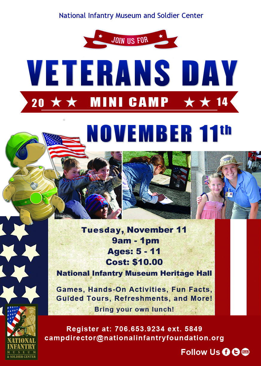Veterans Day Mini Camp at the National Infantry Museum