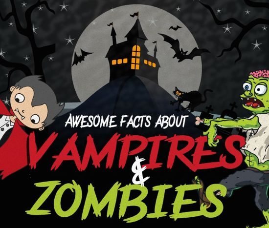 Awesome Facts about Vampires and Zombies (Infographic)