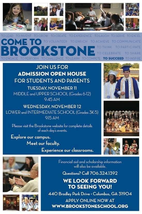 Admission Open House at Brookstone School