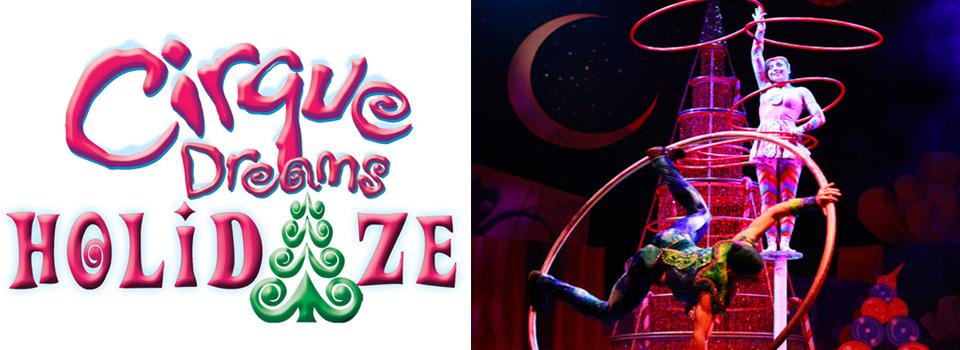 RiverCenter presents Cirque Dreams Holidaze