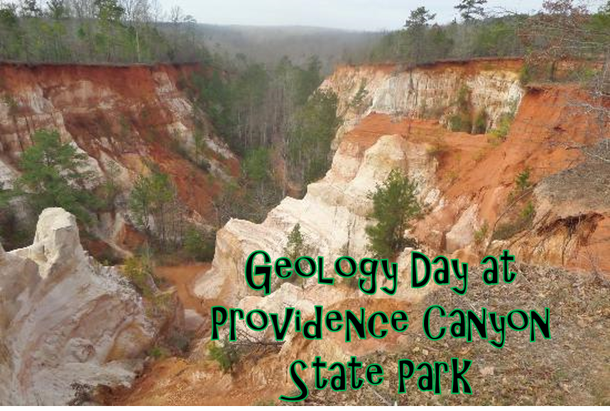 Geology Day at Providence Canyon State Park