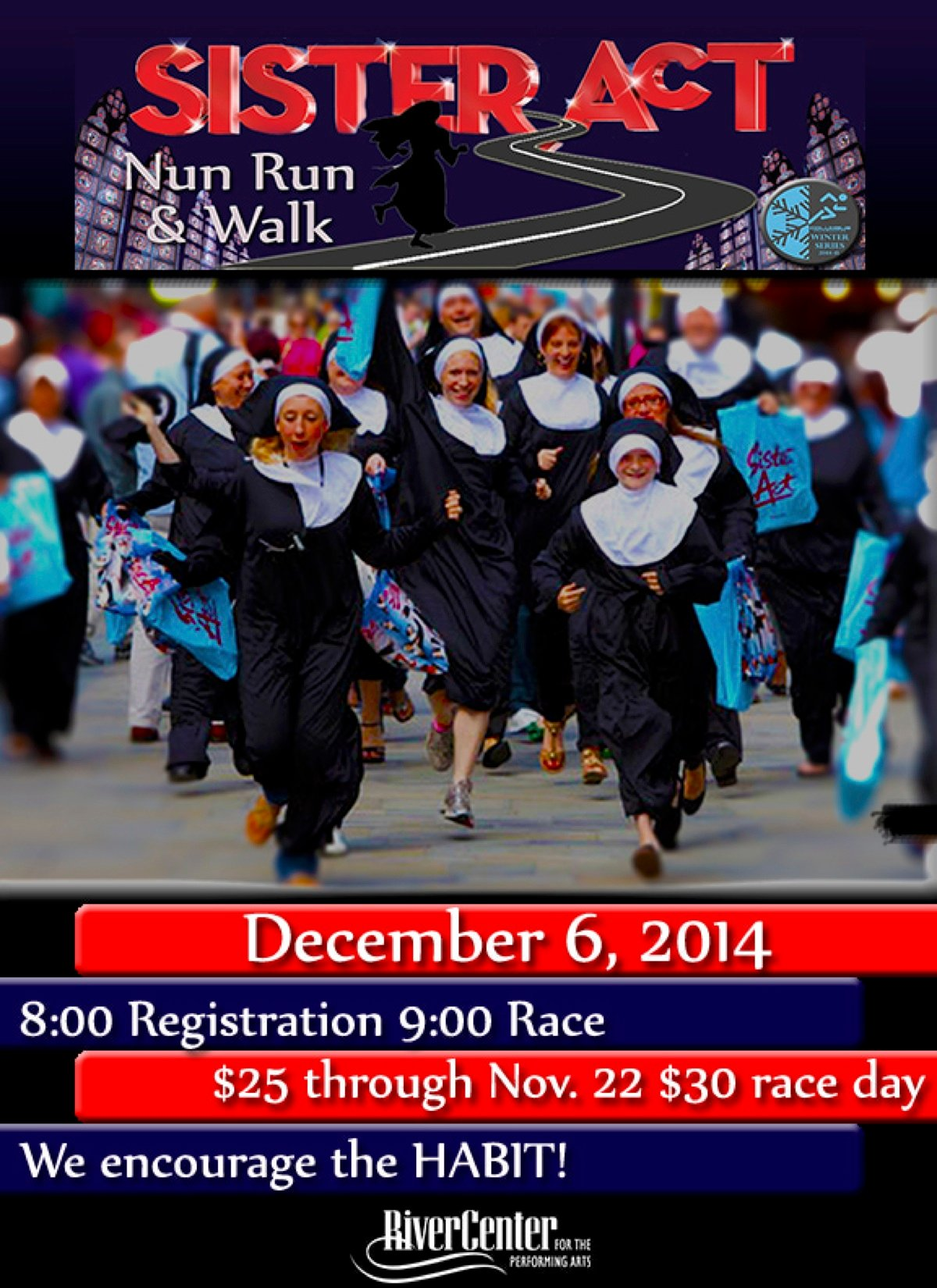 Sister Act Nun Run/Walk Fundraiser