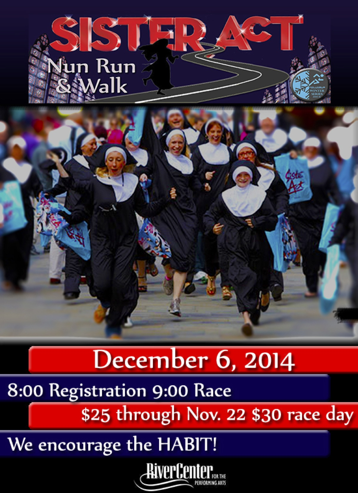 Sister Act Nun Run/Walk Fundraiser