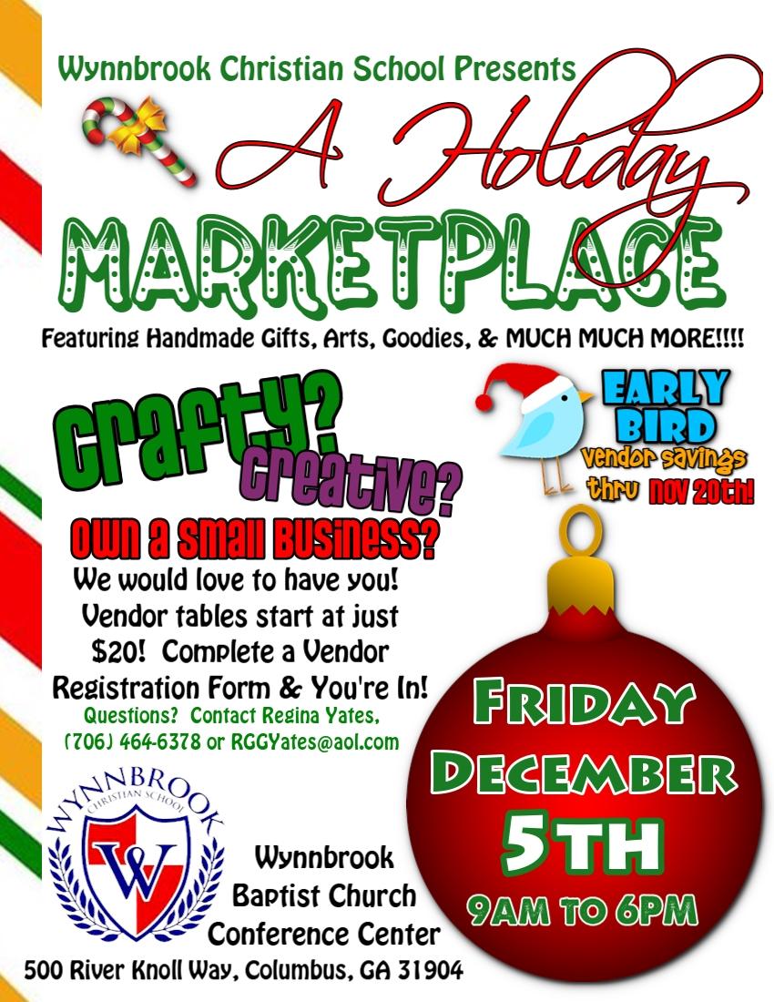 Wynnbrook Winter Wonderland Marketplace & Festival
