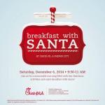 bfast with santa chick fil a
