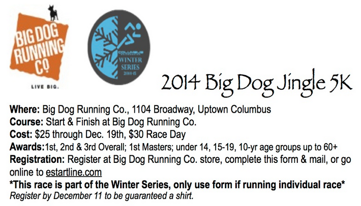 2014 Big Dog Jingle 5K