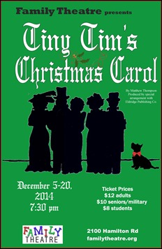 Family Theatre presents Tiny Tim's Christmas Carol