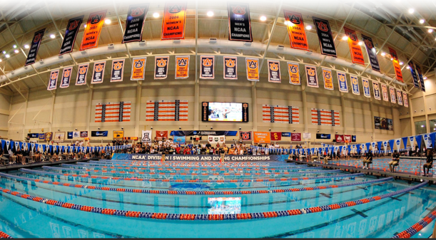 Auburn University Swimming/Diving Competitions