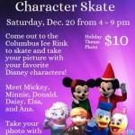 christmas character skate