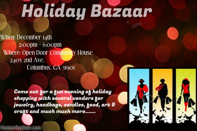 Holiday Bazaar at Open Door Community House