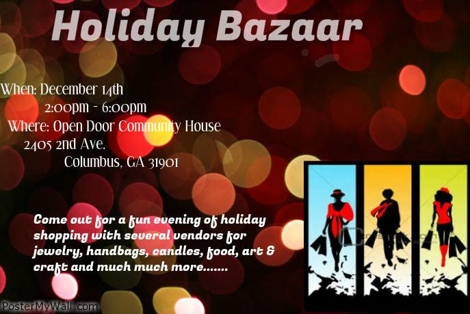 Holiday Bazaar at Open Door Community House