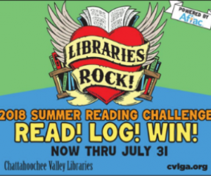CVLGA Summer Reading 2018 ad – 326×248