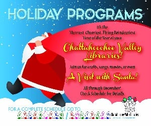 Library Holiday programs