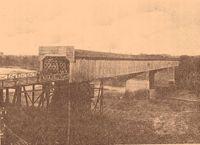 Dillingham Street Bridge. ca. 1900