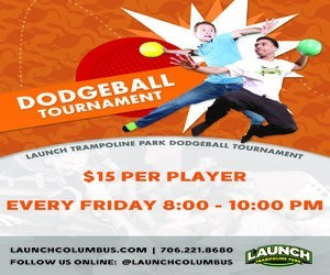 Dodgeball Tournament for Kids @ Launch Trampoline Park | Columbus | Georgia | United States
