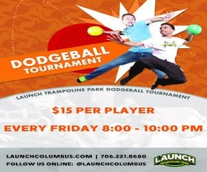 Launch Columbus dodgeball_ad