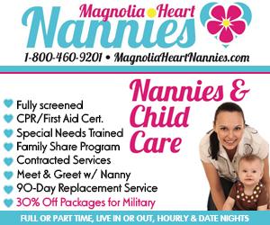 Magnolia Heart Nannies Ad
