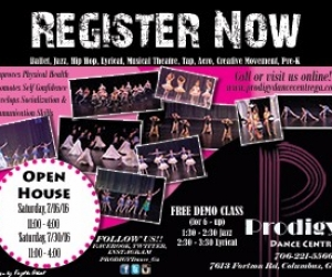 Prodigy Dance Center Summer 2016 ad