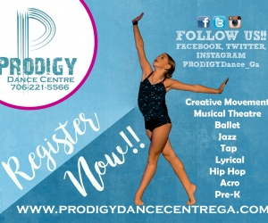 Prodigy Dance Ctr ad