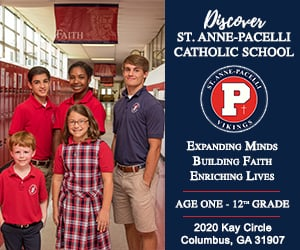 St Anne Pacelli School ad