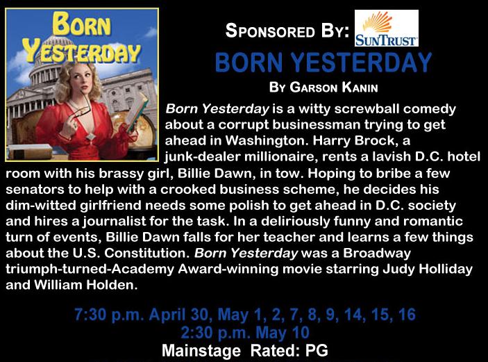 "The Springer Opera House Presents ""Born Yesterday"""