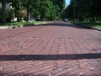 Bricks laid by slaves. Photo Credit:  Columbus Convention & Visitors Bureau