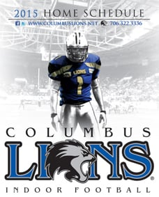 Columbus Lions 2015 Game Schedule