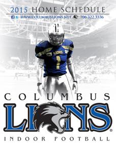 Columbus Lions 2015 Game Schedule