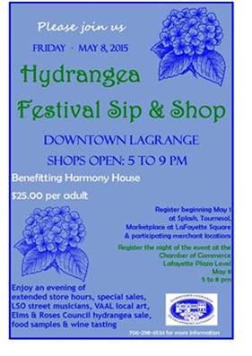 Hydrangea Festival Sip & Shop