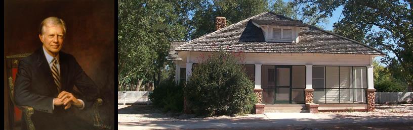 Jimmy Carter boyhood home