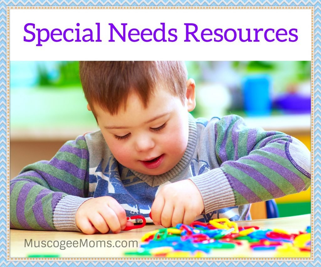 special needs resources muscogee moms