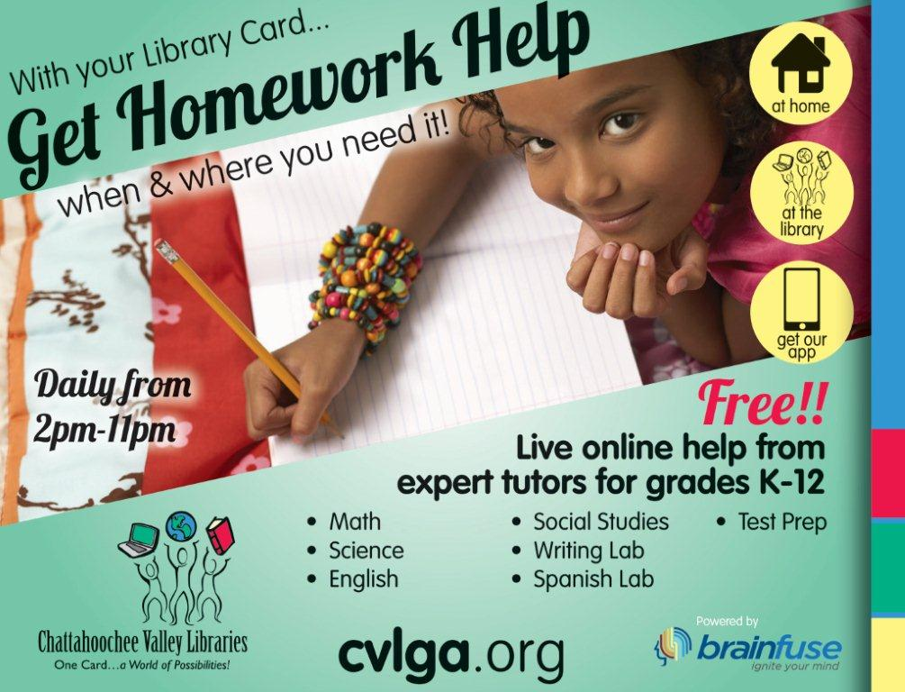 Ad For Homework Help