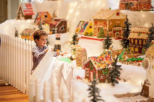 Gingerbread Village Competition