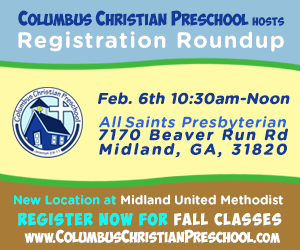 Registration Round Up at Columbus Christian Preschool @ All Saints Presbyterian | Columbus | Georgia | United States