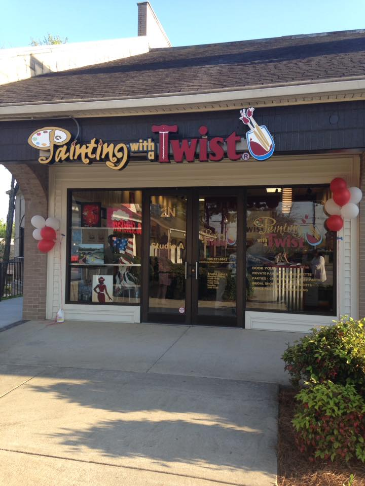 Painting with a twist review muscogee moms for Painting with a twist charlotte nc
