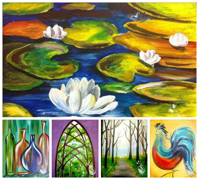 Photos copyright by Painting with a Twist